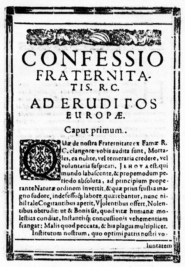La Historia del Rosacruz  ***  Por Pedro Dollar  (En edición) 03_04_confessio