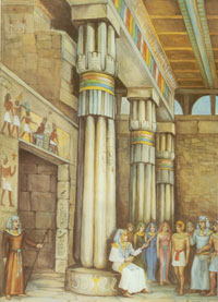 In the Pronaos of the Temple
