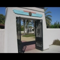 Rosicrucian Park: Entrance to the Peace Garden
